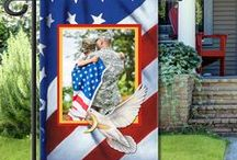 Patriotic and Military Flags