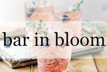 Bar in Bloom / Whether it's brunch, happy hour or a day enjoying the outdoors, embrace spring with these light, floral and fruit-infused cocktail recipes.