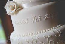 Wedding Cakes / Wedding Cakes, Wedding Cake Inspiration, Cake Ideas, Photography by Steven Neeson