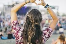 Festival Fun / Embrace your free-spirited side at this season's festivals! We're dreaming of downpour-free days, excitable crowds, and accessories worthy of an encore...