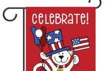 Celebrate the USA / Stars and Stripes!