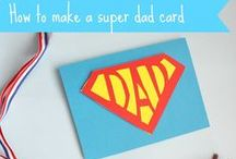 Father's Day / Gift Ideas and Craft Ideas for Father's Day. Trying to find the perfect gifts and crafts and cards for Father's Day from babies, toddlers, preschools and children