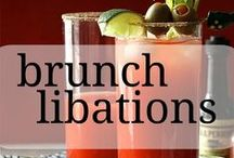 Brunch Libations / Take your next brunch up a notch with these Bloody Mary, Mimosa and Bellini recipes.