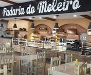 Padaria do Moleiro / Moleiros's (miller's) Bakery is in Torres Vedras, at a fine example of portuguese West Region's traditional architecture. JORDAO is there too, with his DAISY set of chilled. hot and dry/ambient serve-overs.