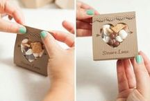 Wedding Favors / You want to give your guests something meaningful and fun to thank them for sharing your wedding day with you. Here are some wedding favor ideas we have seen.