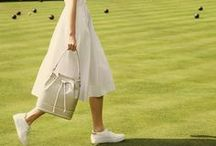 SS16: Game, Set, Radley! / This season we're celebrating some of Britain's most cherished sports. Browse the best bits from our West London photoshoot, and find your favourite SS16 styles. Happy pinning!