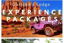Garland's Experience Packages / Looking for an amazing experience during your stay with Garland's Oak Creek Lodge? Besides staying at the most beautiful glamping accommodations in Sedona, you can book an Experience Package! From touring the Grand Canyon to a relaxing massage, Garland's has thought of something for everyone. Here are some pins from our Experience Package partners.