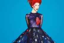 Inspiration: Astrology Series / Chrisu, silk scarf, inspiration, behind the scene, astrology, star sign,