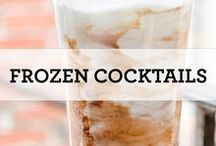 Frozen Cocktails / Stay cool on hot Florida days with one of these slushy cocktails in hand.