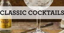 Classic Cocktails / From sidecars to cosmopolitans, mix yourself a time proven favorite.  After all, they're classics for a reason.
