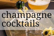Champagne Cocktails / Turn any day into a celebration with one of these champagne cocktails.