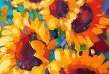 Flowers / Oil paintings of flowers