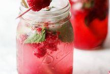 Drinks / Moito framboises
