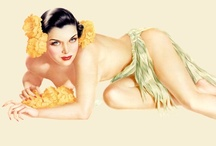 Pin-Ups  -  Alberto Vargas / Alberto Vargas (9 February 1896 – 30 December 1982) was a noted Peruvian painter of pin-up girls. He is often considered one of the most famous of the pin-up artists. Numerous Vargas paintings have sold and continue to sell for hundreds of thousands of dollars.
