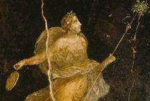 ♔ - Ancient Frescoes