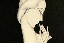 Art Deco ✤ illustrations