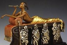 Art Deco ✤  Sculpture & Art