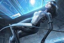 Sci fi and Steampunk