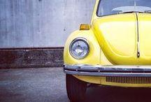 VW beetle and mini cooper / by Vanda Desiree