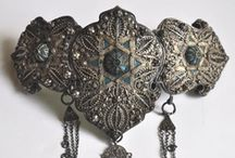 29 - Central Europe | Caucasus | Balkan Ethnic Adornment & Jewelry / Caucasus : Russian Federation (partially) - Chechnya - Dagestan - Ingushetia - Adyghea - Kabardino-Balkaria - Karachay–Cherkessia - North Ossetia - Krasnodar Krai - Stavropol Krai - Georgia - Abkhazia - Adjara - Armenia - Azerbaijan - Nakhichivan - Nagorno-Karabakh - South Ossetia - Turkey (partially) - Iran (partially)