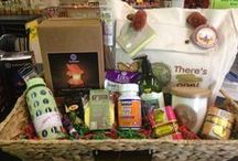 The Gift Basket Giveaway / Recently we had a gift basket giveaway on facebook! Check out the awesome items we included in the gift basket!