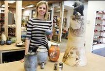 Nos artisans - Céramique / Dossier de presse et info sur nos enseignants du «DEC Techniques de métiers d'art» du Cégep Limoilou en Céramique.