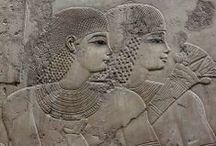 •  Egyptian Art II | Pharaonic Era / Early Dynastic Period (3100–2686 BC) • Old Kingdom (2686–2181 BC) • 1st Intermediate Period (2181–2055 BC) • Middle Kingdom (2055–1650 BC) • 2nd Intermediate Period (1650–1550 BC) • New Kingdom (1550–1069 BC) • 3rd Intermediate Period (1069–664 BC) • Late Period (664–332 BC) • Achaemenid Egypt (525–332 BC) • Ptolemaic Egypt (332–30 AD) • Meroitic Kingdom (800 BC - 350 AD) Nubia