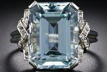 18 -  Aquamarine Jewelry  -  Deco & Retro