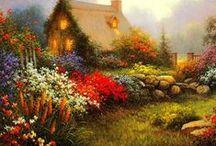 Thomas Kinkade Painter