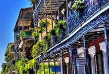 New Orleans, Louisiana / New Orleans is a bustling town that is known for its incredible nightlife, prestigious universities and historical landmarks... not to mention, all the delicious food!