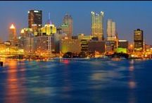 Pittsburgh, Pennsylvania / Pittsburgh brings tons of life and culture to the state of Pennsylvania! Home of the Pittsburgh Steelers, die-hard fans are around every corner! Come enjoy the rich culture, yummy cuisine and beautiful scenery that Pittsburgh has to offer!