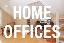 Home Offices / More and more people are doing their work online, creating a need for having a home office in a potential home. Here are some examples of home offices from our properties in Cleveland.