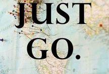 Be happy / Travel makes me happy