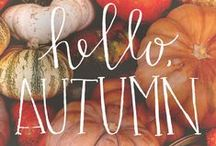 Fall Favorites / Football games, pumpkin spice lattes, Halloween decorations, tailgate parties! Everything you love about FALL is here :)