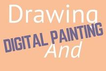 Drawing & Digital painting / Tips gathered for drawing and for digital painting.