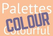 Colors and colorful things / Colourful things and palettes. Colour theory tips. Color, colour, colourful, colorful, palettes, color wheel.