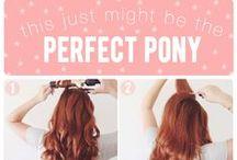 Hair tutorial & ideas