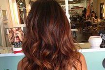 Chocolate ombre hair ideas