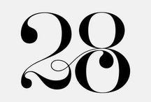Typography / Typography, type, lettering, sans-serif, serif, cursive, handwritten, hand lettering, layout, spacing, kerning