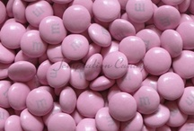 Pink Candy / Pink Candy From Temptation Candy. All your favorite Pink Candy including Gummy Rings, Rock Candy Crystal Sticks, Pink Starburst, Gumballs, M&M's, Mints, Skittles, Jelly Belly Beans and much, much more!