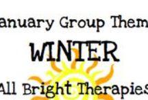 January- Winter themed activities