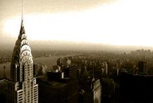 NEW YORK / The Big Apple... Black & White