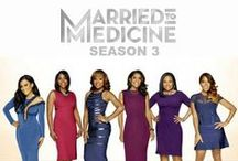 Married to Medicine / Married to Medicine premieres April 6th at 9 p.m. EST. Mariah Huq, Dr. Jacqueline Walters, Quad Webb-Lunceford, Toya Bush-Harris and Dr. Simone Whitmore are all back this time around. Kari Wells is out and newcomers, Lisa Nicole Cloud and Dr. Heavenly Kimes are in.