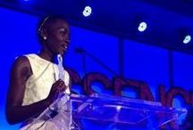 """Lupita Nyong'o / When  Lupita Nyong'o won the Essence Magazine Black Women In Hollywood Breakthrough Performance Award, she gave a beautifil and powerful speech. """"What is fundamentally beautiful is compassion for yourself and for those around you. That kind of beauty enflames the heart and enchants the soul..."""""""