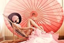 Pretty in Pink / Thinking Pink. Inspiration for our pink product range.