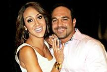Melissa and Joe Gorga / The Gorgas and their goings on.