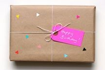 g i f t w r a p / ideas for giftwrapping