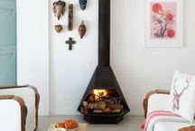 f i r e p l a c e s / warm & cosy, fireplace inspiration