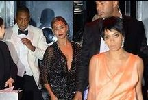 Beyonce', Solange, Jay Z / Talented artists.