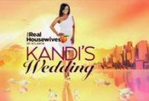 Kandi's Wedding / Bravo show. Show about Kandi Burruss' and Todd Tucker's walk toward the alter.